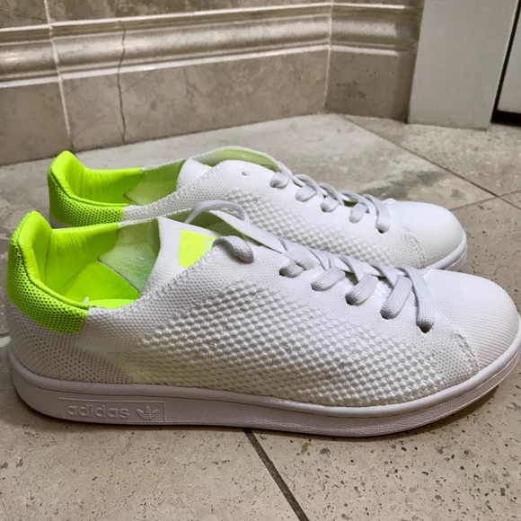 pretty nice 1be1e 2ff1f Adidas Stan Smith Primeknit Lace Up Sneakers